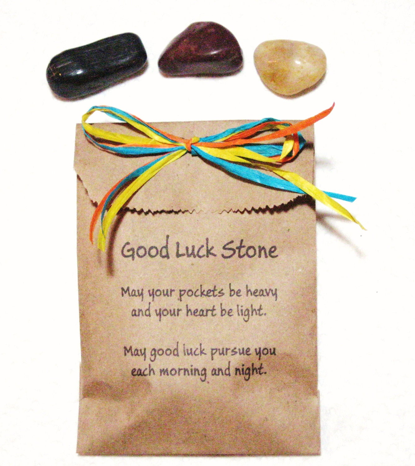 Find Good Luck Stone : Good luck stone by mycreativeclutter on etsy