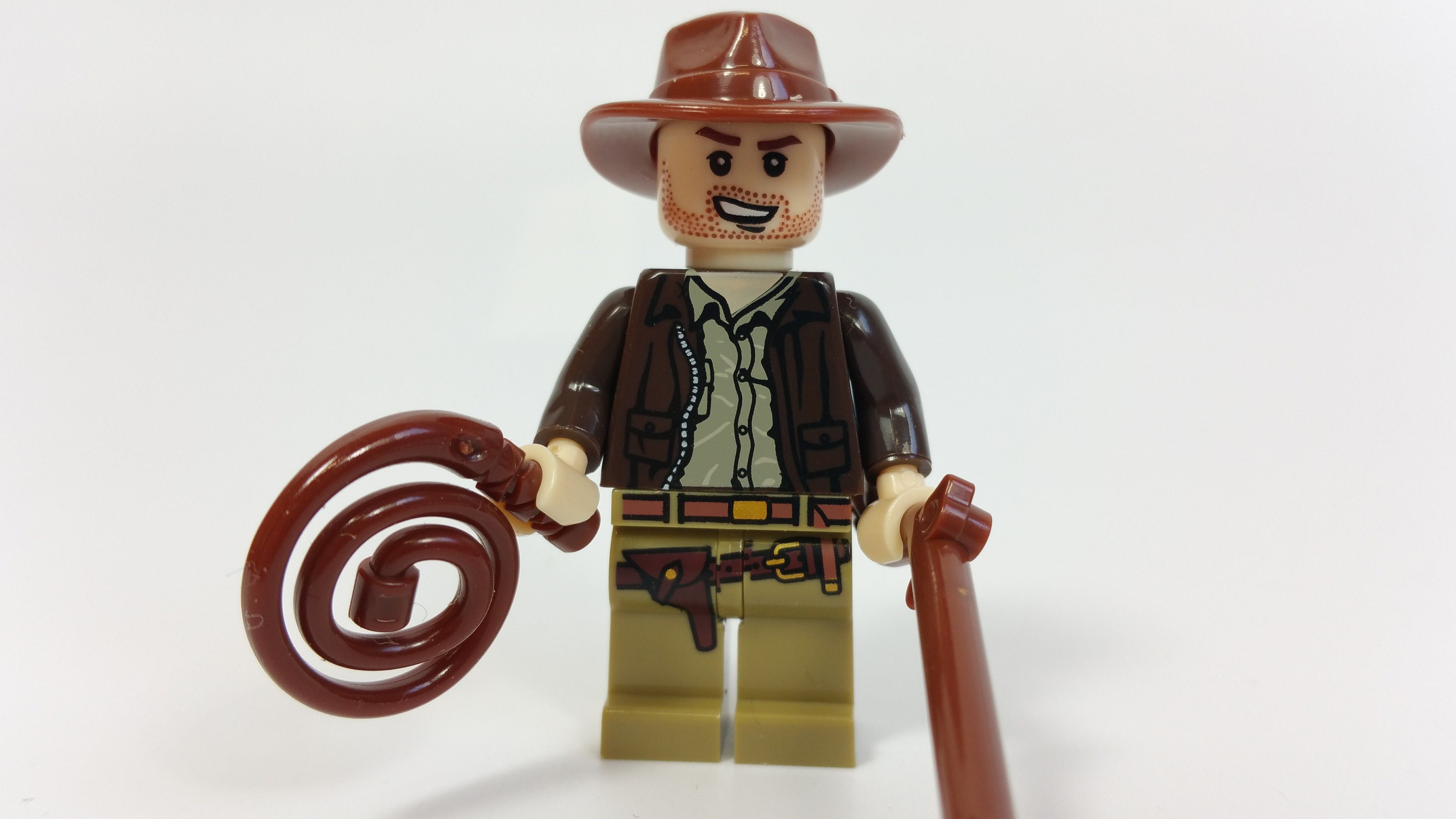 Custom Movie Hero Indiana Jones Minifigure Fits Lego UK Seller