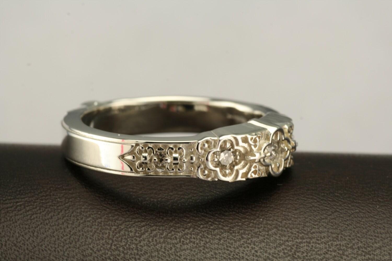 wedding band renaissance ring by addingtonkarpathia