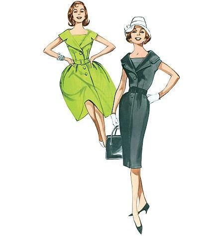 50s style halter dress patterns