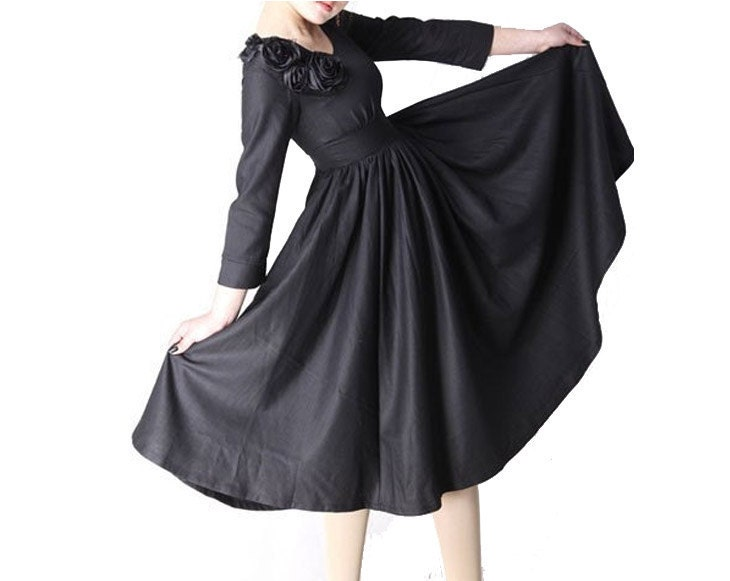 لباس - لباس عروسی سیاه (MM06)