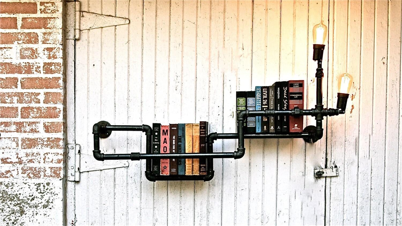let 39 s stay cool pipe lighting design. Black Bedroom Furniture Sets. Home Design Ideas