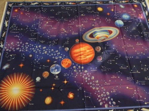 fabric solar system panel coordinates by hcostello1 on etsy