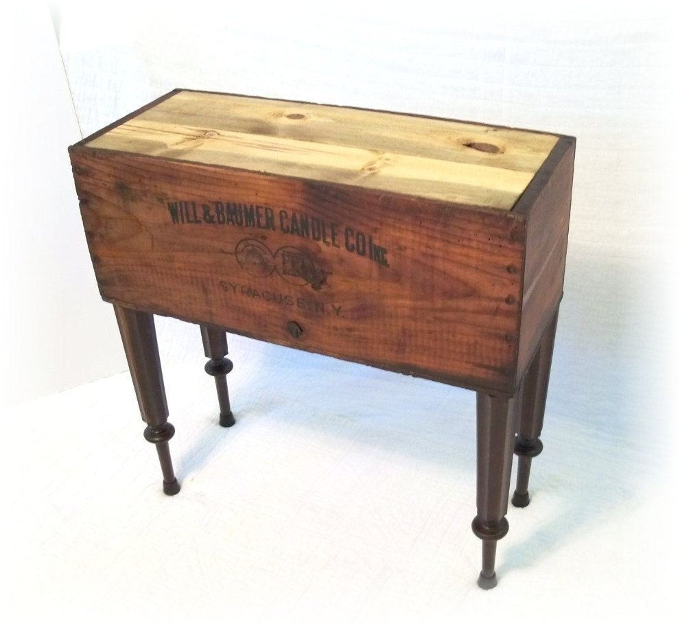 Shipping Crate Table Antique Wood Crate From Will By Mrsrekamepip