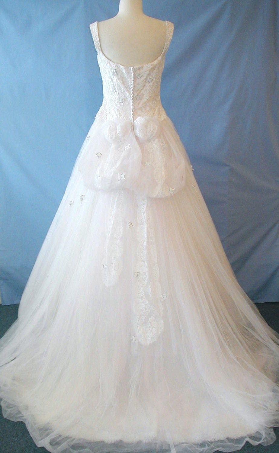 A Truly EXQUISITE pastel pink Givenchy wedding dress