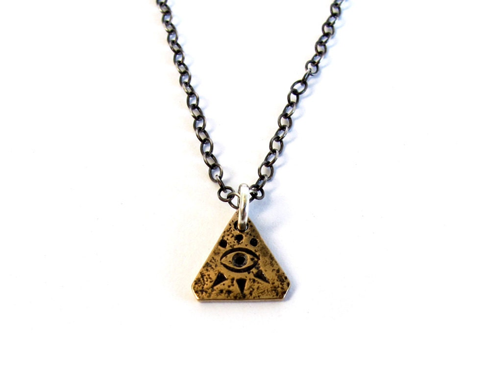 third eye necklace by laurelhill on etsy