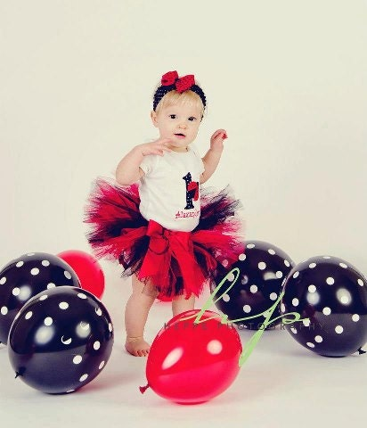 foto de Ladybug1st Bithday Tutu SetParty by ChristiCreations on Etsy