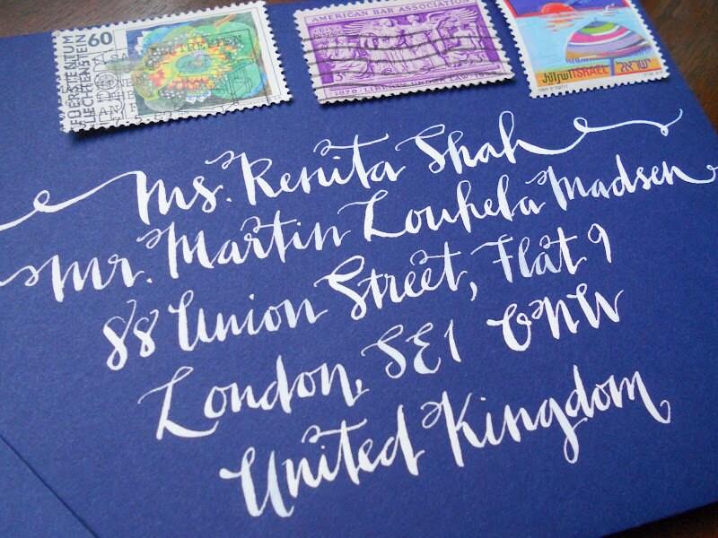 Wedding Calligraphyskinny Lucy Font By Whoanelliepress On Etsy
