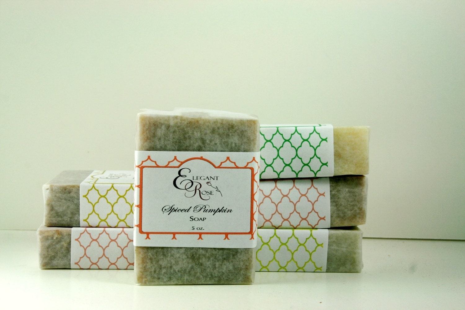 Soap - Choose any 6 Handmade Soap Bars - Natural Soap, Essential Oil Soap - ElegantRoseBoutique