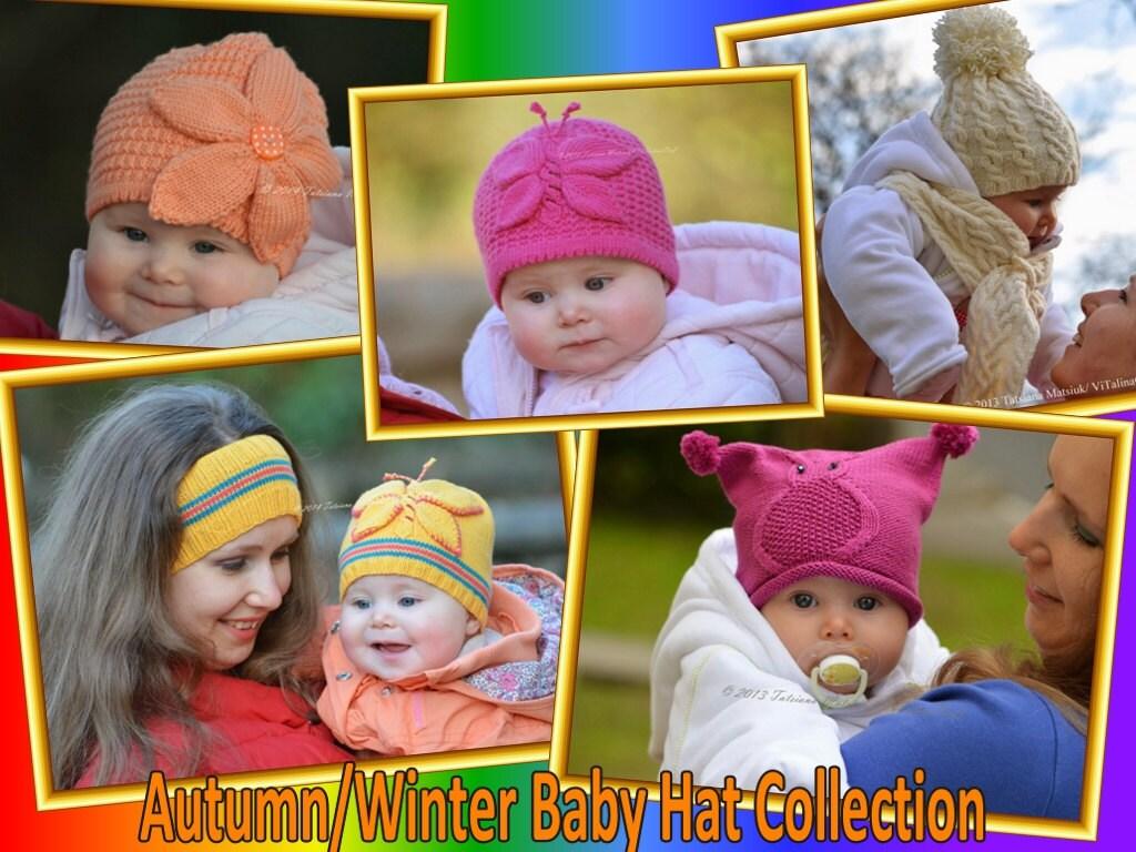 Шапки вязания детских шапочек 907