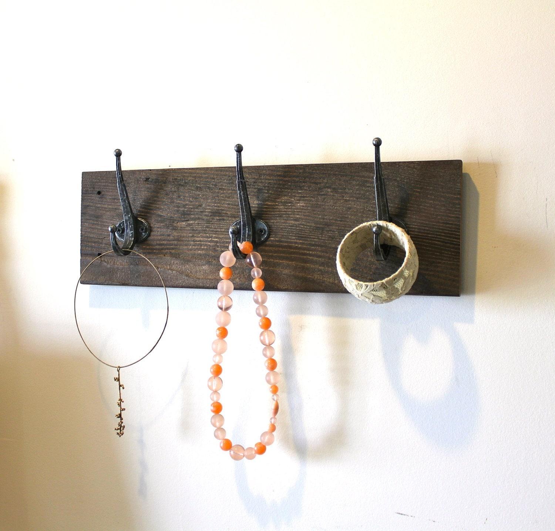 Reclaimed Barn Wood Coat Rack - bluebirdheaven
