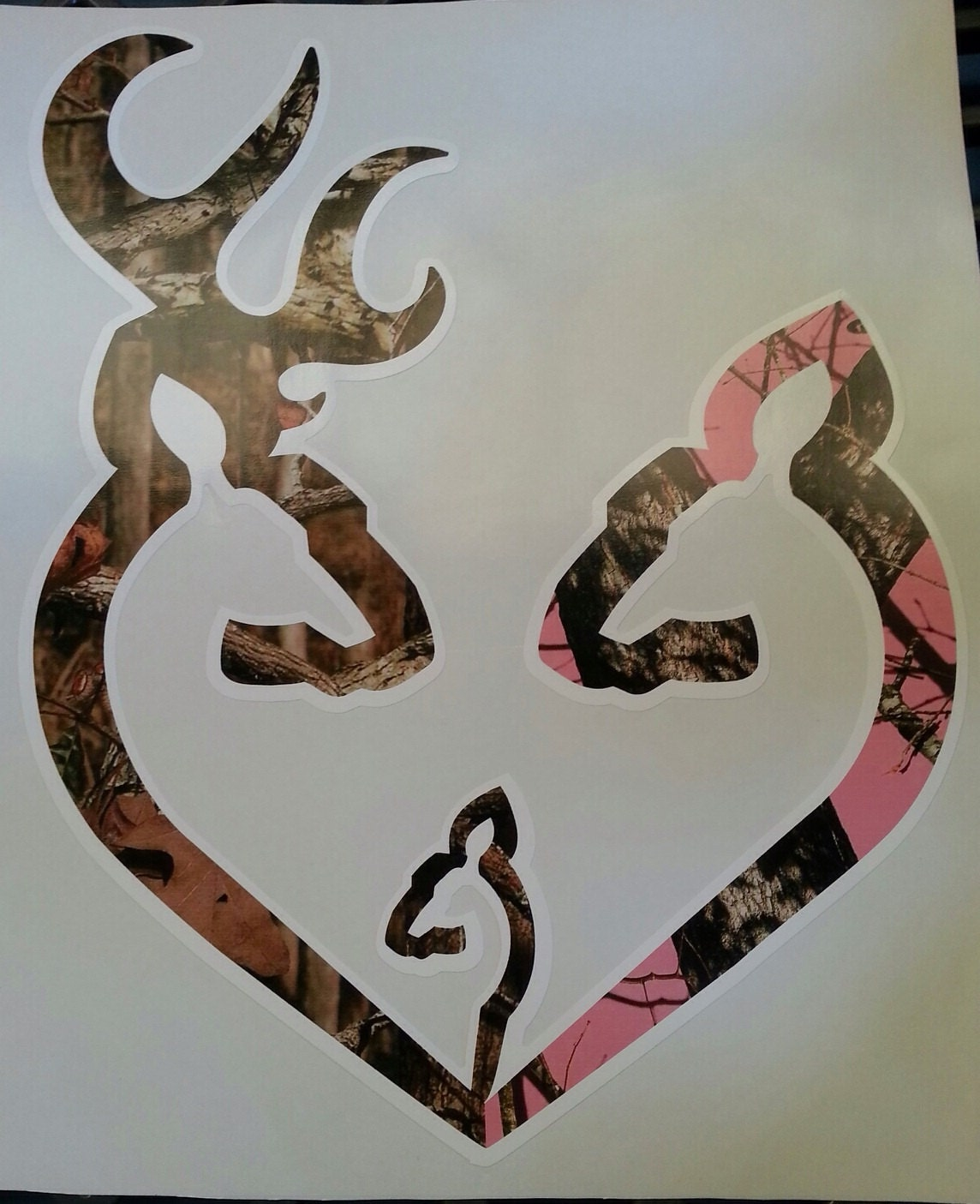 Browning Symbol Heart Camo Background Browning Heart Camo Background