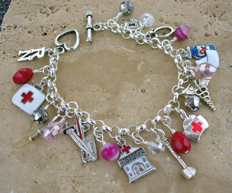 registered charm bracelet by kipajipraisejewelry on etsy