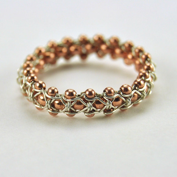 biker chain chic ring how to make wire jewelry by