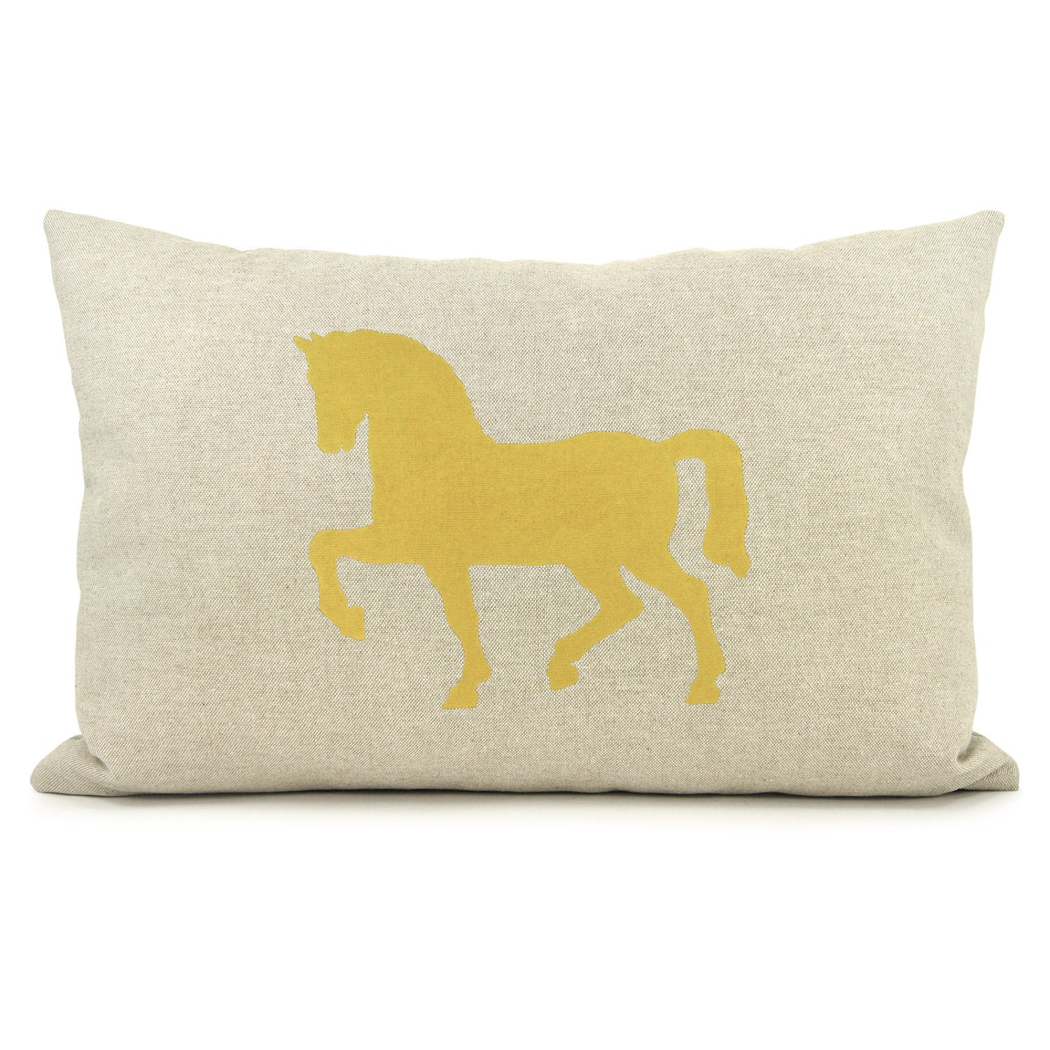 Decorative Pillow Cover 12x18 : 12x18 horse pillow cover Lumbar pillow cover by ClassicByNature