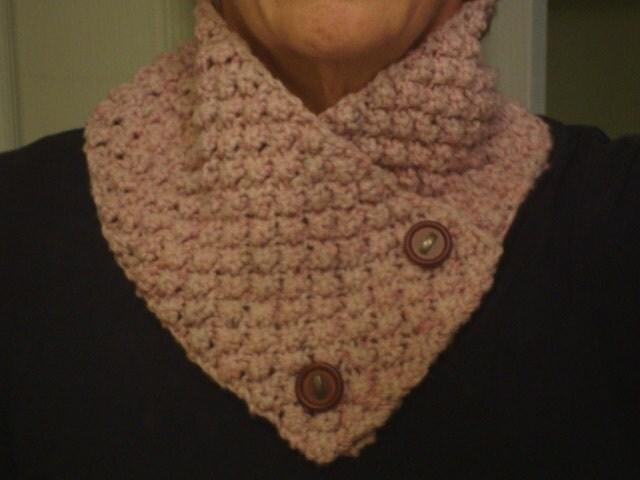 Brambleberry Neck Warmer Simple Knitting Pattern by SewBizGirl