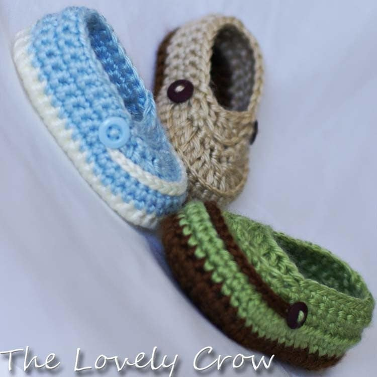 Crochet Pattern For Baby Lovey : Baby Boy Booties Crochet Pattern for LITTLE MISTER by ...