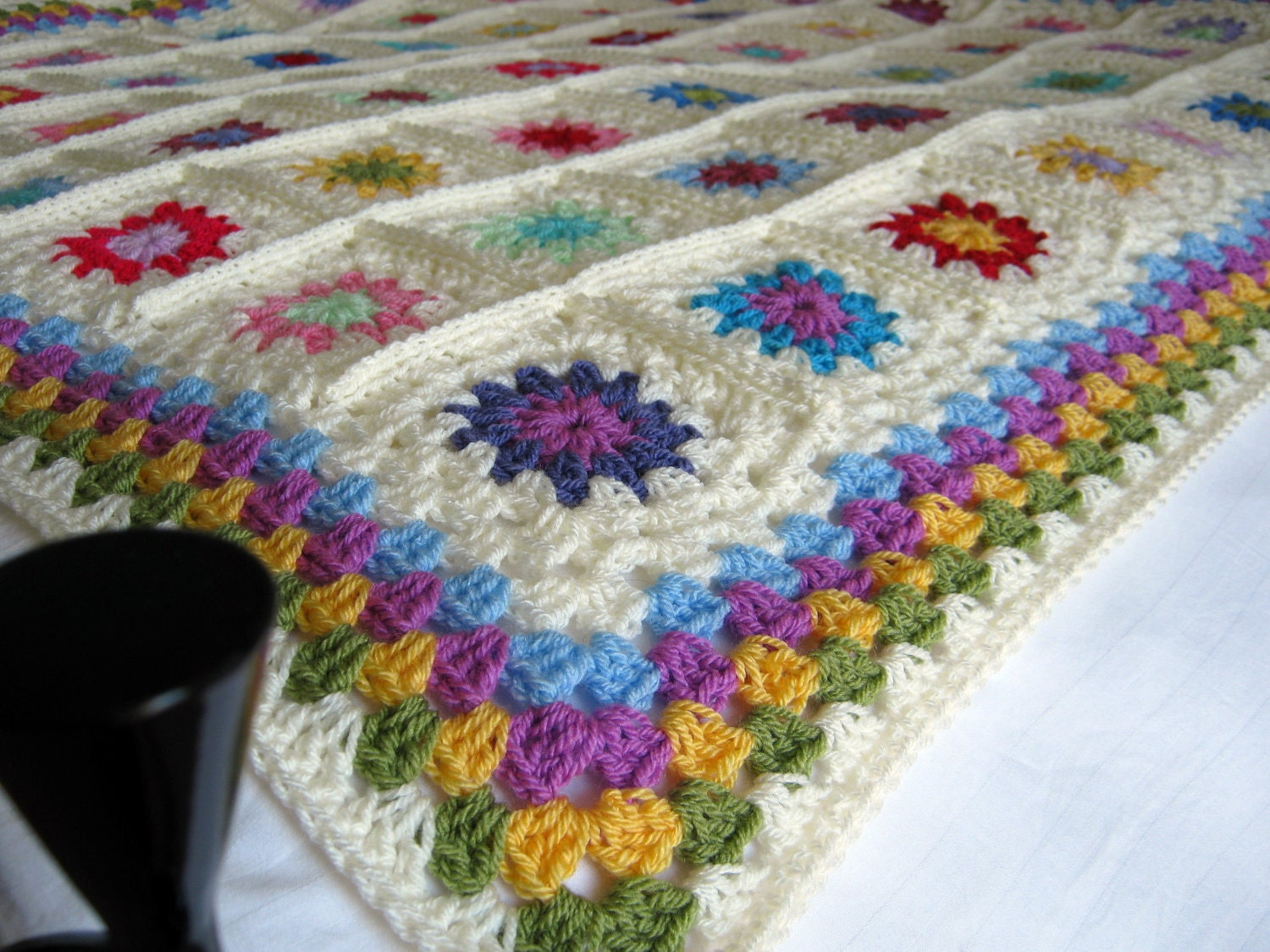 Free Online Crochet Granny Square Patterns : Crochet Pattern For Granny Square Patterns Gallery