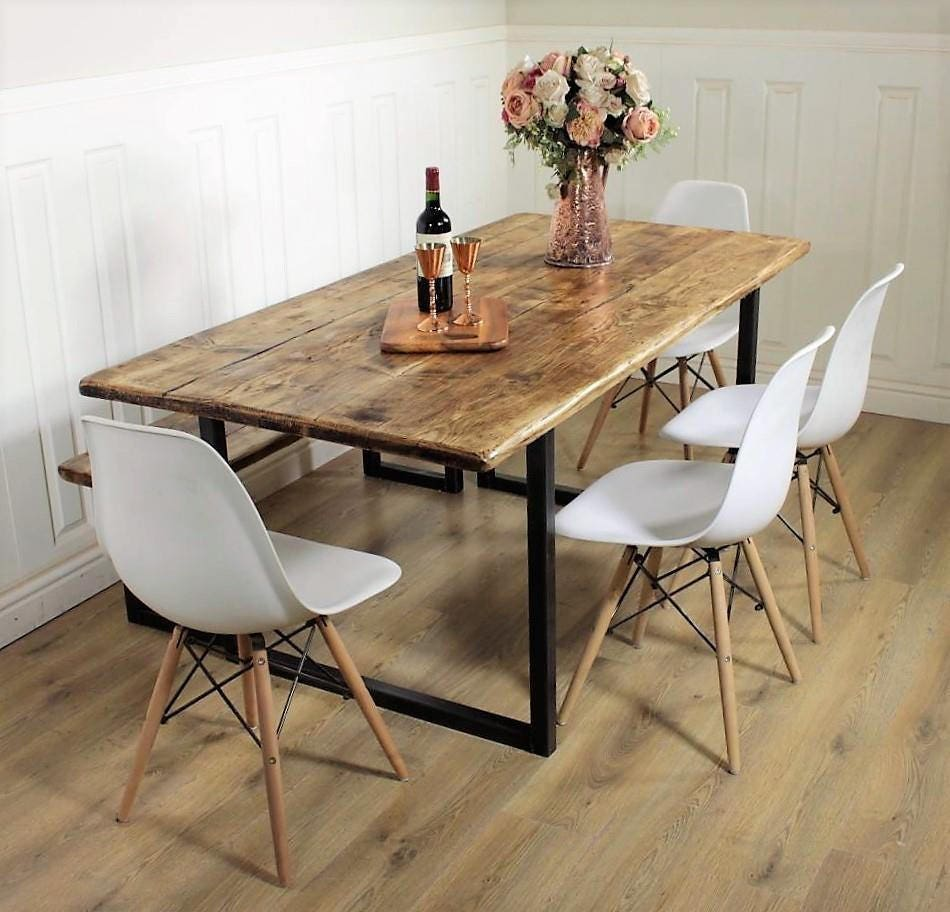 Il Rustic Dining Table Etsy