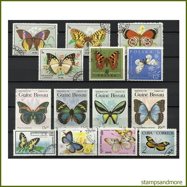 Postage Stamp Craft Projects
