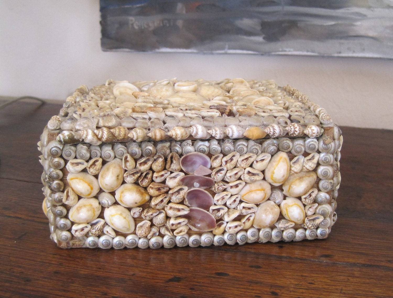 Mother Of Pearl Dresser Box