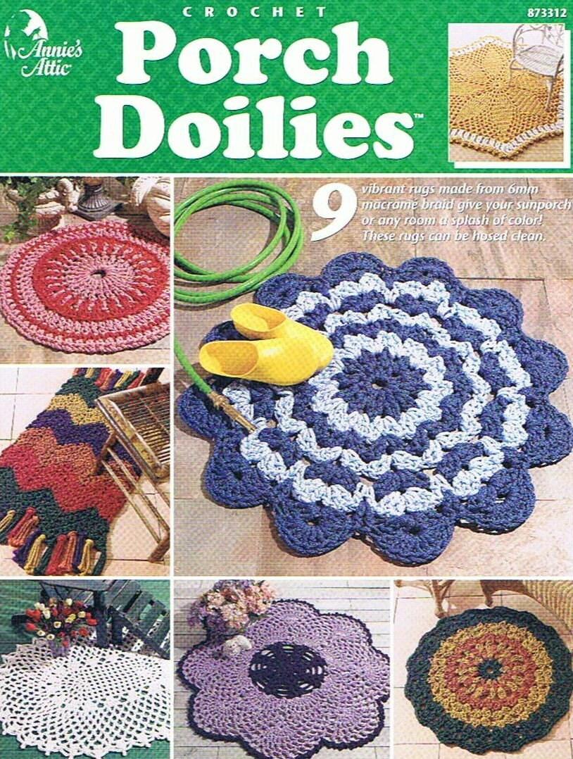Doilies Vintage Patterns Books PDF Download - KarensVariety.com