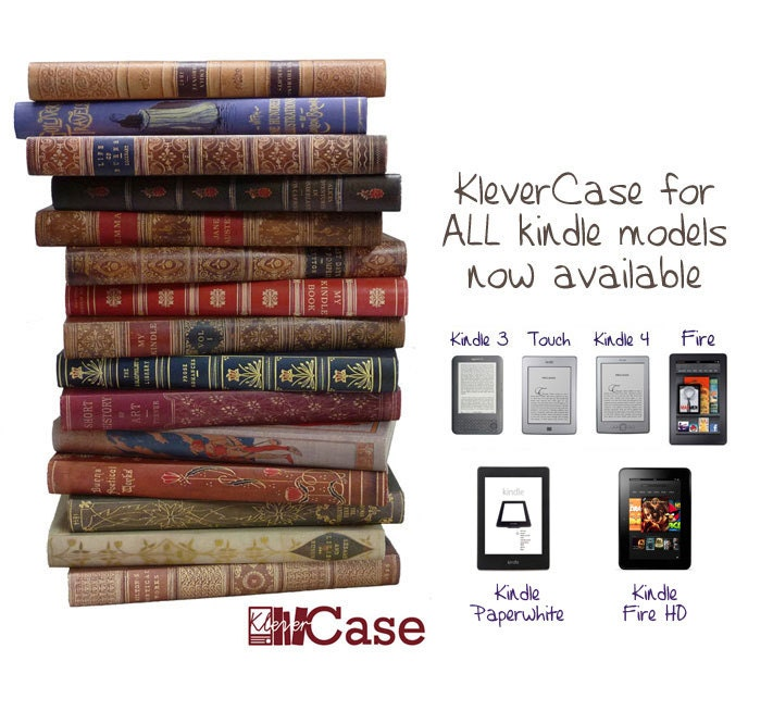 Classic Book Cover For Kindle Paperwhite : Kindle case klevercase book cover for touch by