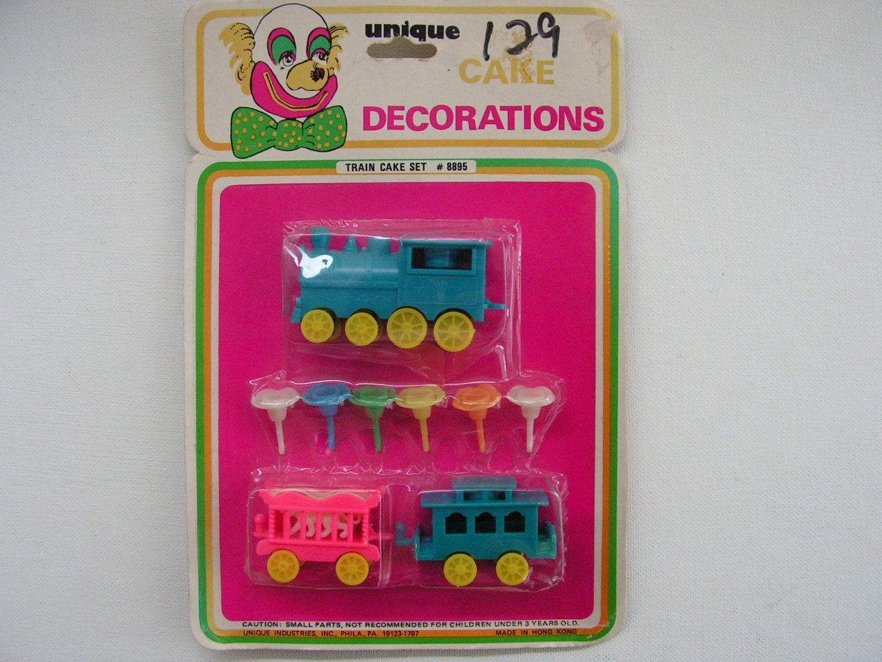 Etsy Cake Decorations : Vintage Cake Decorations Train Circus by greatvintagefun ...