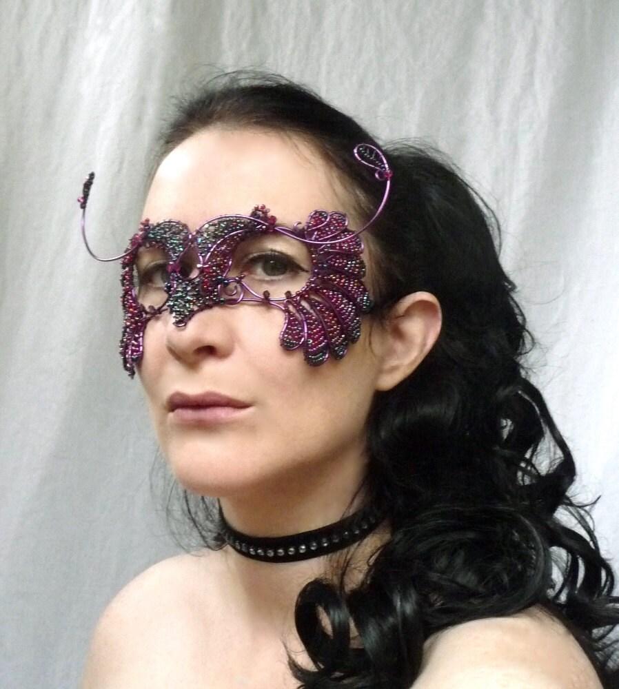 Bird Masquerade Mask, womens, costume, accessories, handmade
