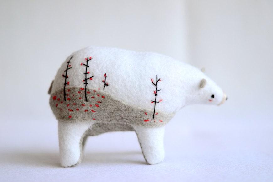 winter woods spirit bear 2