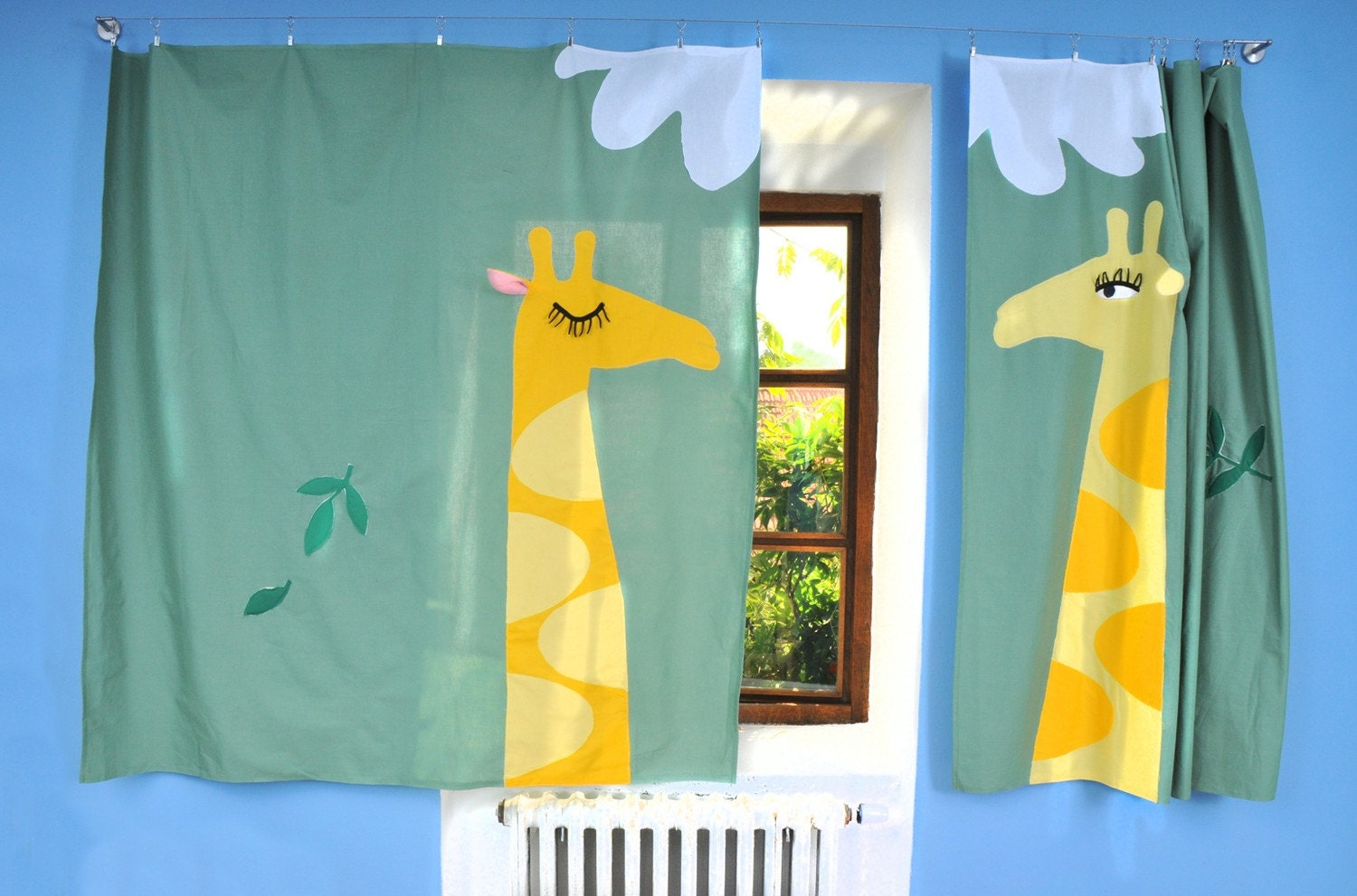 Curtain for Kids - Giraffes - dgmart
