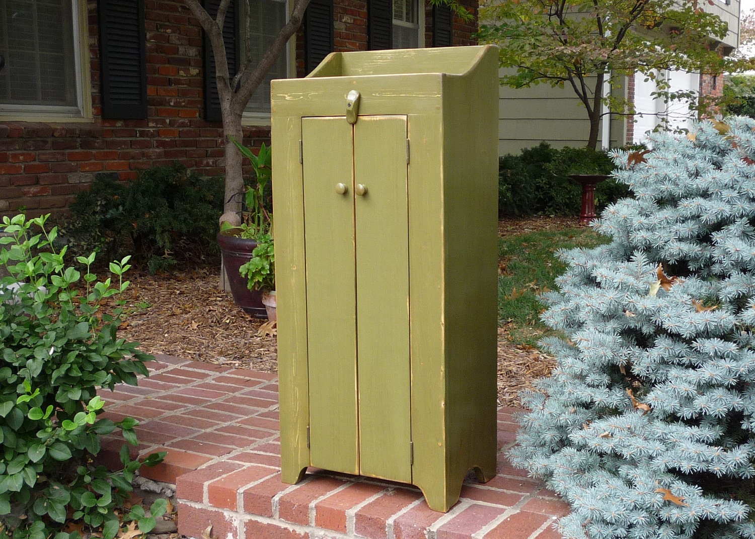 42 Inch Tall Two Door Storage Cabinet Or By Buckcreekfurnishings