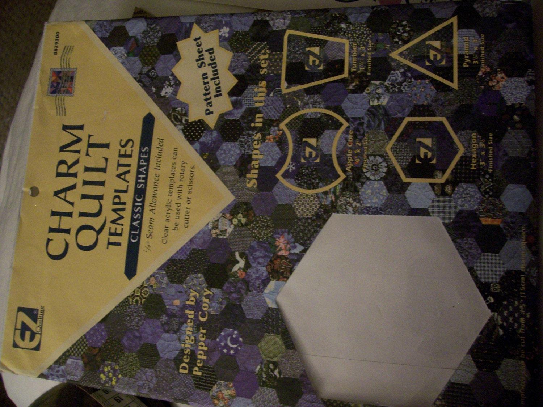 Ez Quilting Charm Quilt Templates : Vintage Charm Quilt Templates by EZ Quilting by dreamweaver1954