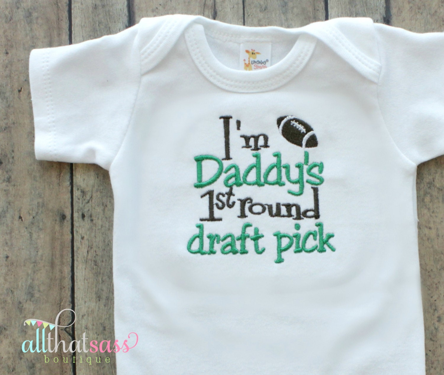 Baby Boys or Girls Bodysuit Outfit by AllThatSassBoutique