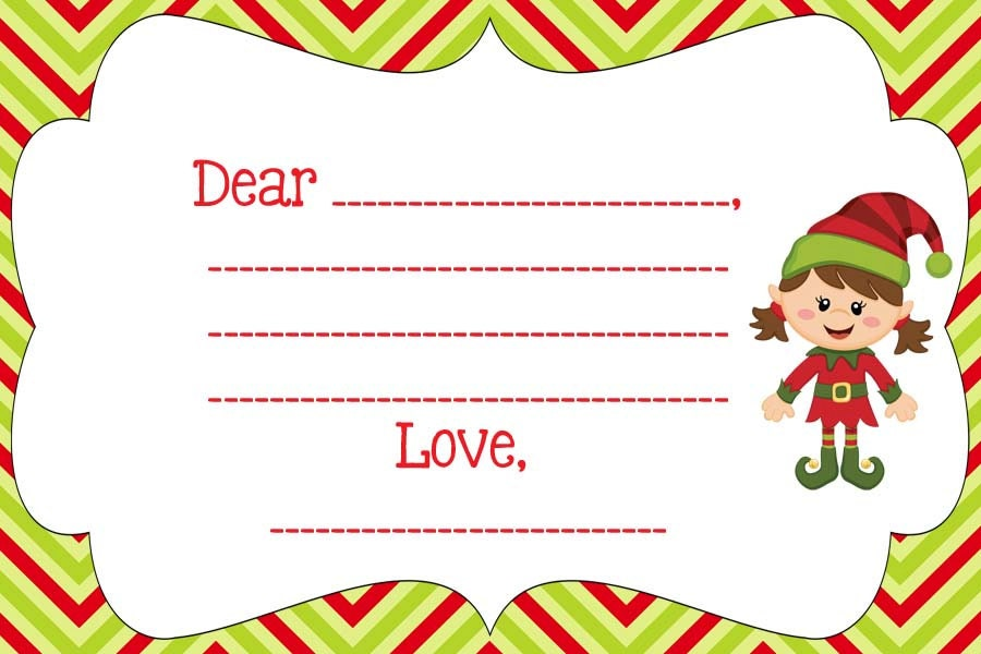 similar to Blank note from your Elf on the Shelf- Personalize- PDF Elf ...