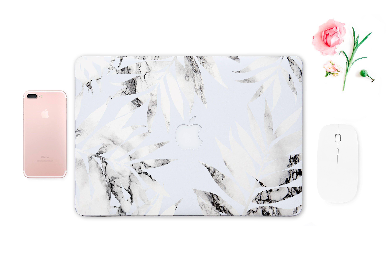 Marble Leaves Decal Marble Sticker Mackbook Marble Pro Marble Cover Cover Marble Macbook Air 11 Cover Pro 15 Macbook Macbook Case 13 ESD020
