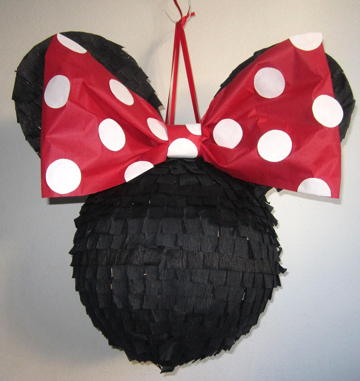 Como hacer una piñata de Minnie, toturial - Imagui