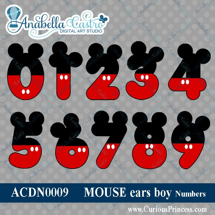Mickey Mouse Numbe...