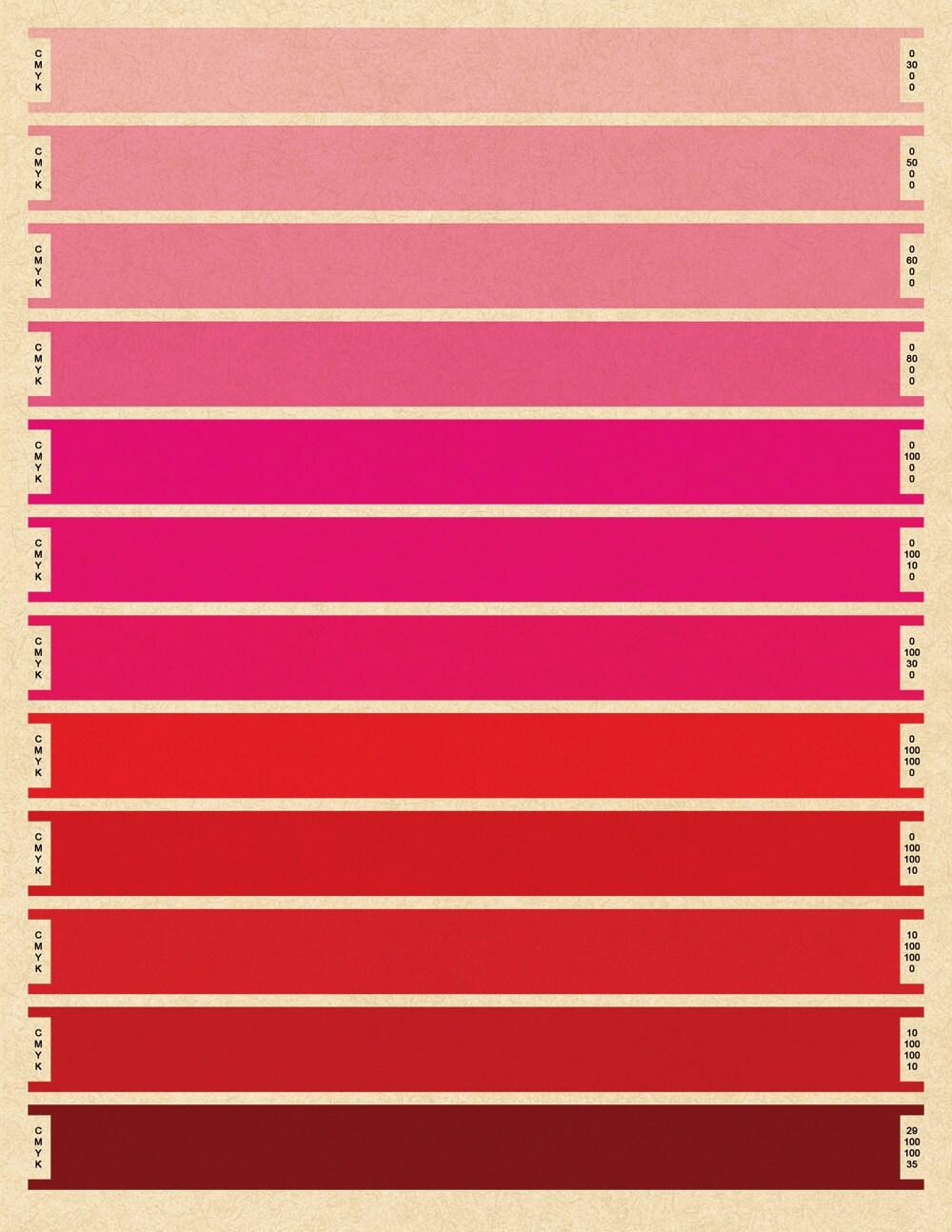 Палитра красного цвета : сколько существует основных оттенков и каковы их 37