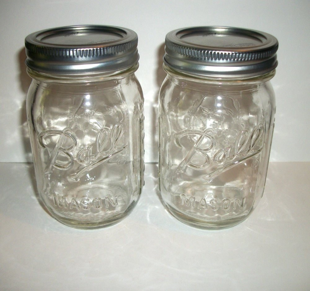Two ( 2 ) CHOOSE YOUR SCENT 100% Soy Candle in Mason Jars 14 oz