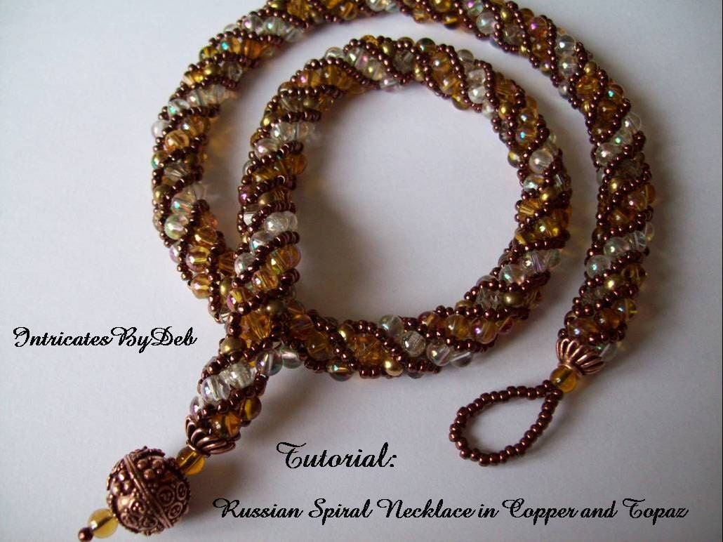 russian spiral beading instructions