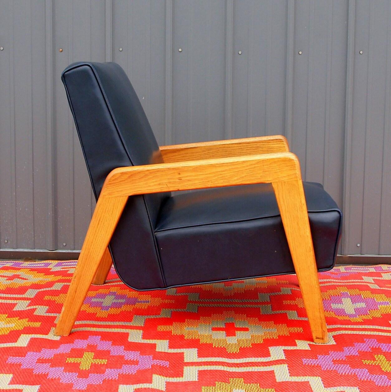 Mid Century Modern Arm Chair Thnoet Danish By Acesfindsvintage