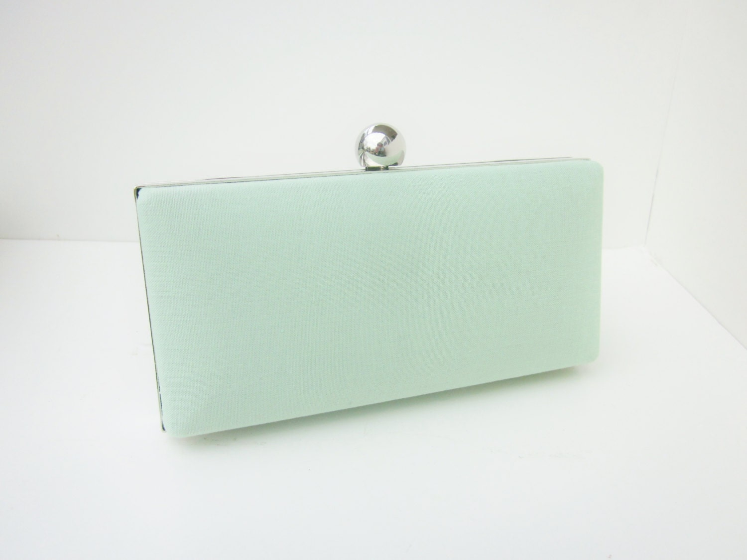 Mint Green Clutch Purse Mint Green Bridesmaid By Vincentvdesigns