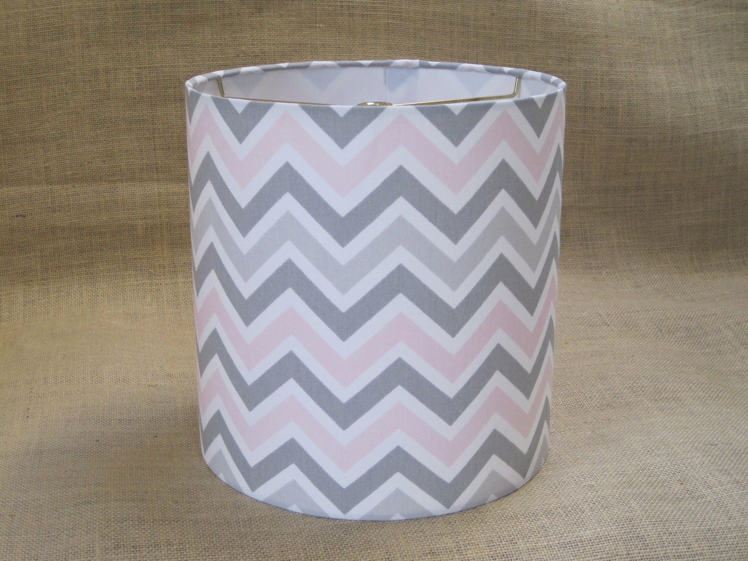Lamp Shade Chevron Drum Lampshade Pendant In By