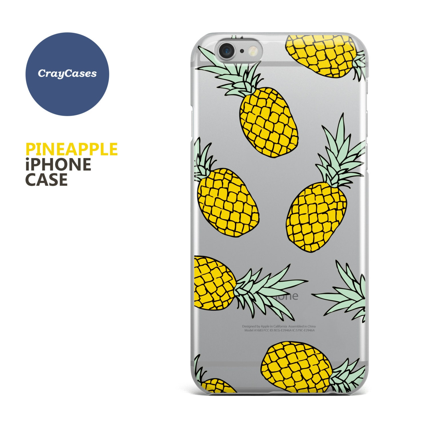 Clear Pineapple iPhone 7 Case Pineapples iPhone 6 Case Pineapple iPhone 6s Plus Case Pineapple iPhone 6 Plus Case (Shipped From UK)
