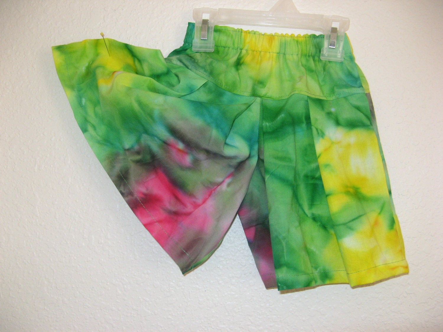 Culottes Modest Split Skirt Tie Dyed Size 2