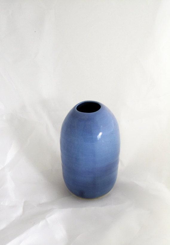 periwinkle seed vase - davistudio