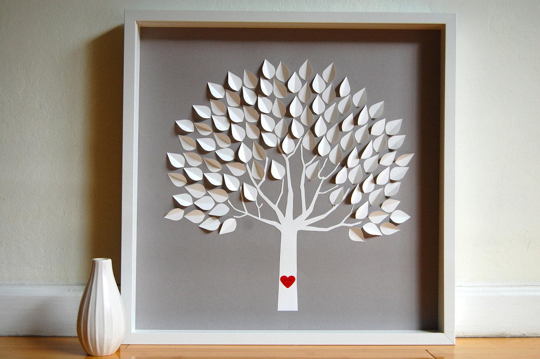 Как сделать дерево в подарок своими руками 17