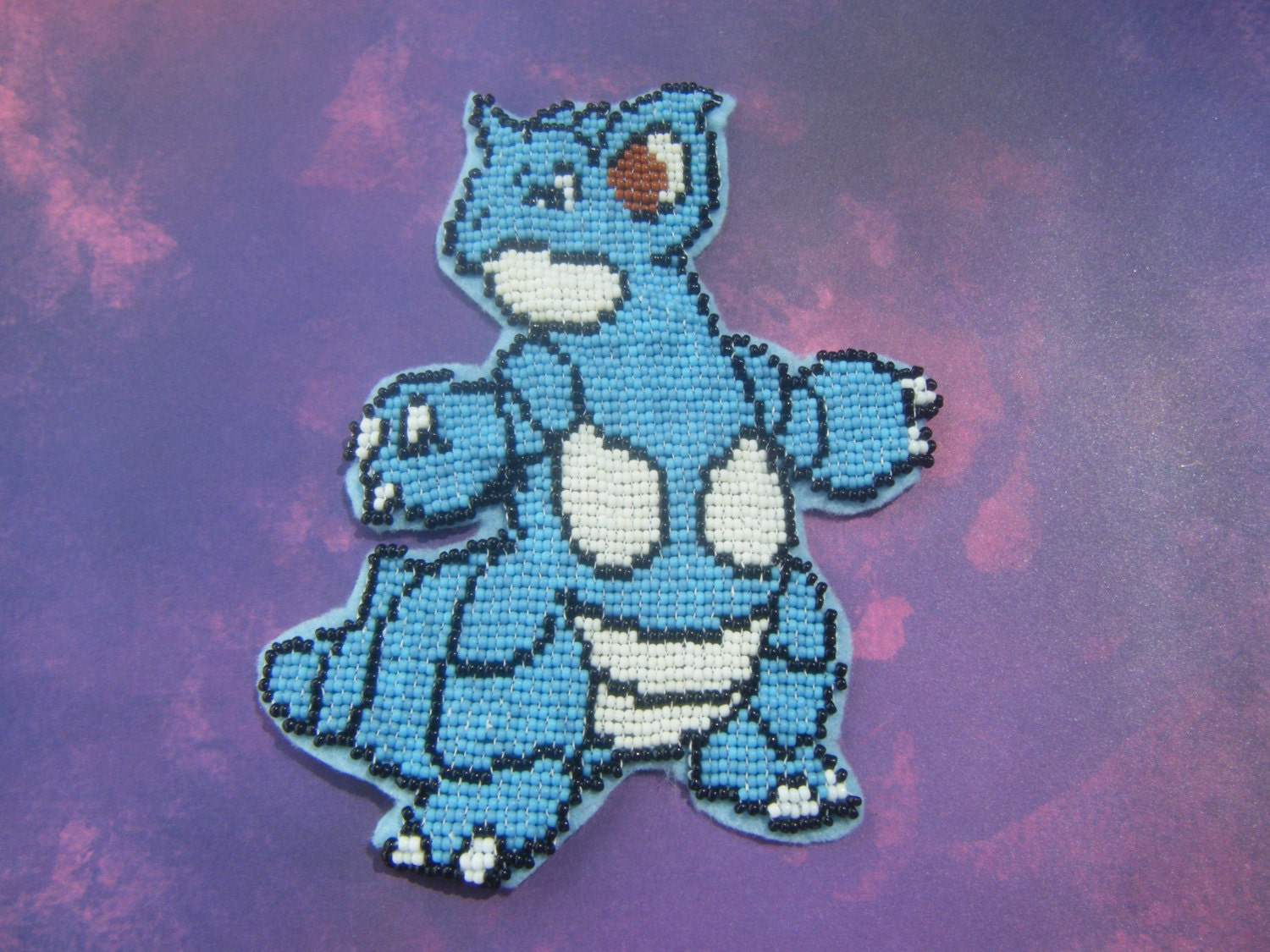 Beaded Pokemon Patch Nidoqueen by AnimeHaven on Etsy