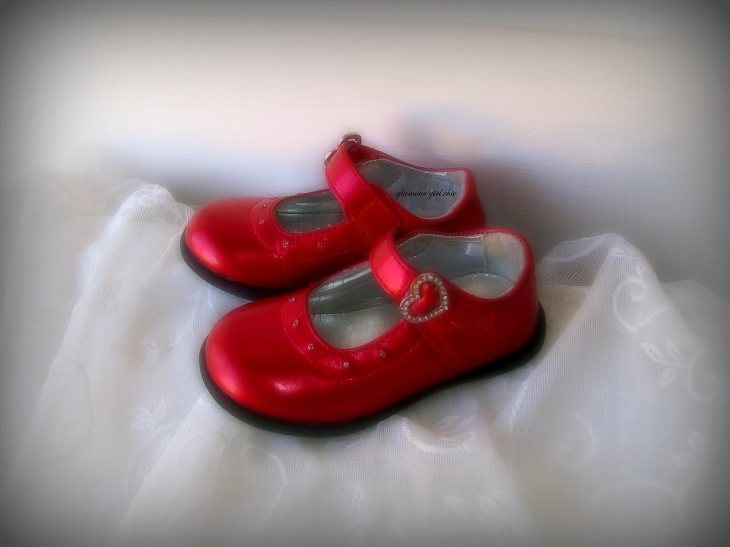 Future Cinderella.Girls Red shoes. MAry Jane shoes.Girly Fairy tale. Nursery Wall Art.Girls room. 5x7 Photography